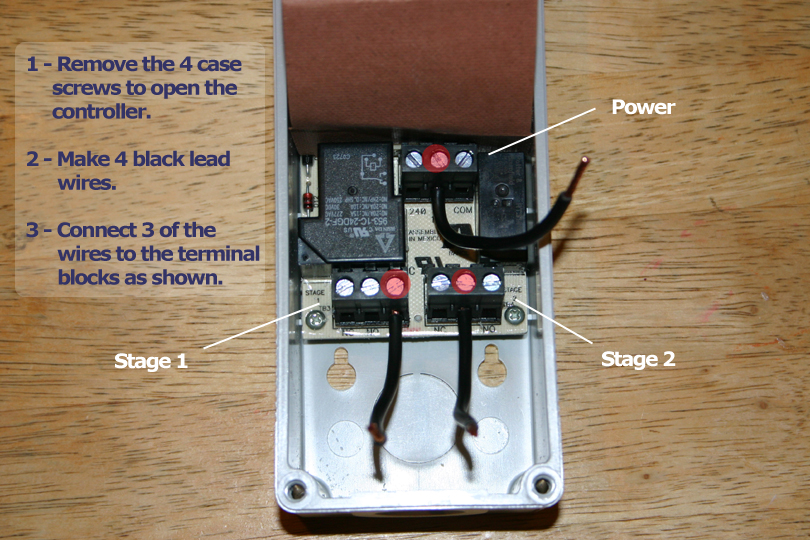 How To Wire A Ranco ETC 2 Stage Temp Controller The Reef Tank