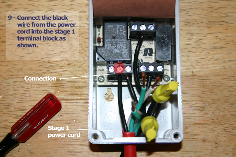 How to wire a Ranco ETC 2 Stage Temp Controller - The Reef Tank Ranco Etc Wiring Diagram on